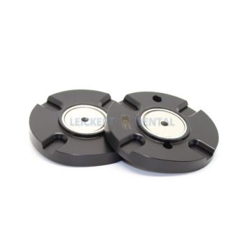 Plate set suitable for Adesso Split compatible with Artex Carbon