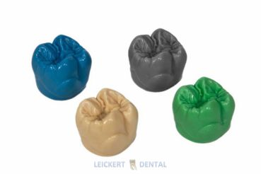 Universal modeling wax in the form of the molars 26